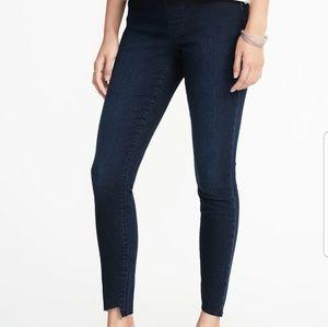 Old Navy Rockstar Step Hem Jeans